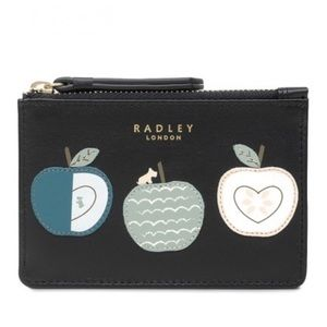 NWT RADLEY LONDON AN APPLE A DAY SMALL COIN PURSE